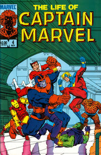 Cover Thumbnail for The Life of Captain Marvel (Marvel, 1985 series) #4