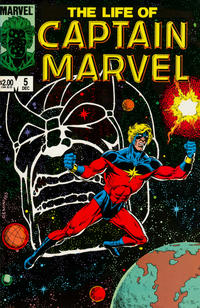 Cover Thumbnail for The Life of Captain Marvel (Marvel, 1985 series) #5