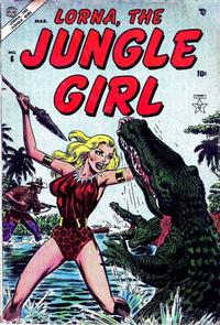Cover Thumbnail for Lorna the Jungle Girl (Marvel, 1954 series) #6