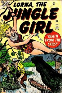 Cover Thumbnail for Lorna the Jungle Girl (Marvel, 1954 series) #11