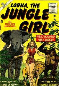 Cover Thumbnail for Lorna the Jungle Girl (Marvel, 1954 series) #13