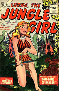 Cover Thumbnail for Lorna the Jungle Girl (Marvel, 1954 series) #14