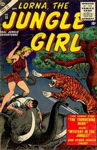 Cover Thumbnail for Lorna the Jungle Girl (Marvel, 1954 series) #15