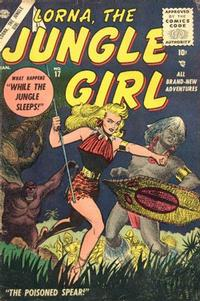 Cover Thumbnail for Lorna the Jungle Girl (Marvel, 1954 series) #17