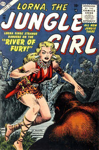 Cover Thumbnail for Lorna the Jungle Girl (Marvel, 1954 series) #19