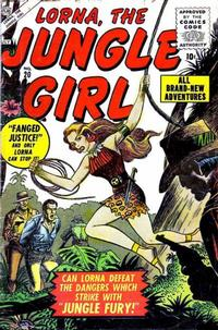 Cover Thumbnail for Lorna the Jungle Girl (Marvel, 1954 series) #20