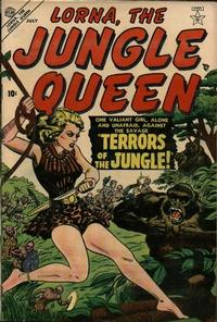 Cover Thumbnail for Lorna the Jungle Queen (Marvel, 1953 series) #1