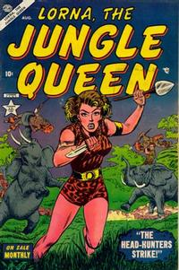 Cover Thumbnail for Lorna the Jungle Queen (Marvel, 1953 series) #2