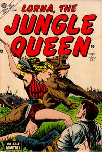 Cover Thumbnail for Lorna the Jungle Queen (Marvel, 1953 series) #3