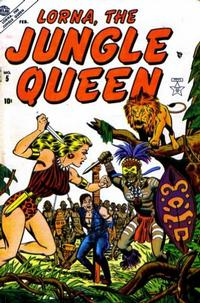 Cover Thumbnail for Lorna the Jungle Queen (Marvel, 1953 series) #5