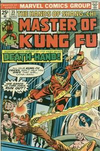 Cover Thumbnail for Master of Kung Fu (Marvel, 1974 series) #35