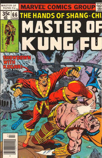 Cover Thumbnail for Master of Kung Fu (Marvel, 1974 series) #66