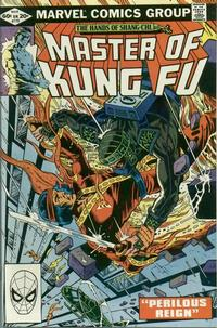 Cover Thumbnail for Master of Kung Fu (Marvel, 1974 series) #110 [Direct]