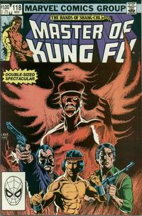 Cover Thumbnail for Master of Kung Fu (Marvel, 1974 series) #118 [Direct]