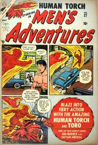 Cover Thumbnail for Men's Adventures (Marvel, 1950 series) #27