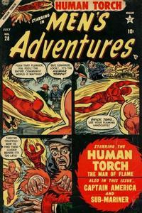 Cover Thumbnail for Men's Adventures (Marvel, 1950 series) #28