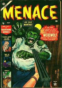 Cover Thumbnail for Menace (Marvel, 1953 series) #3