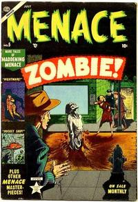 Cover for Menace (Marvel, 1953 series) #5