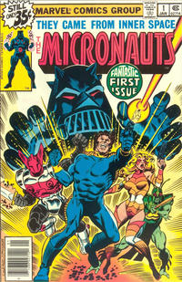 Cover Thumbnail for Micronauts (Marvel, 1979 series) #1