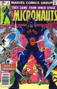Cover Thumbnail for Micronauts (Marvel, 1979 series) #4