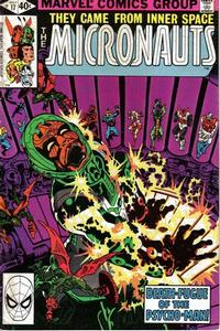 Cover Thumbnail for Micronauts (Marvel, 1979 series) #17 [Direct]