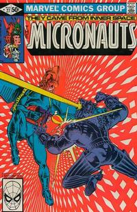 Cover Thumbnail for Micronauts (Marvel, 1979 series) #27 [Direct]