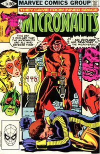 Cover Thumbnail for Micronauts (Marvel, 1979 series) #34 [Direct]