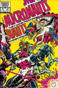 Cover Thumbnail for Micronauts (Marvel, 1979 series) #47