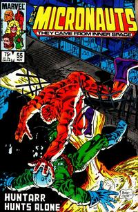 Cover Thumbnail for Micronauts (Marvel, 1979 series) #55