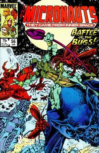 Cover Thumbnail for Micronauts (Marvel, 1979 series) #56