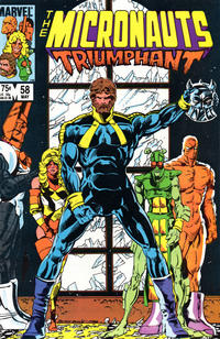 Cover Thumbnail for Micronauts (Marvel, 1979 series) #58