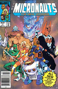 Cover Thumbnail for Micronauts (Marvel, 1984 series) #1 [Newsstand]
