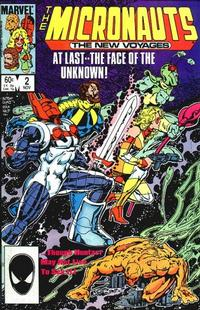 Cover Thumbnail for Micronauts (Marvel, 1984 series) #2 [Direct]