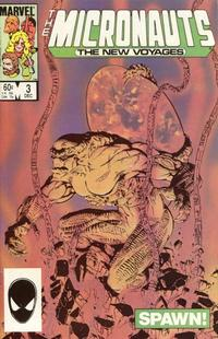 Cover Thumbnail for Micronauts (Marvel, 1984 series) #3 [Direct]