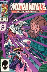 Cover Thumbnail for Micronauts (Marvel, 1984 series) #4 [Direct]