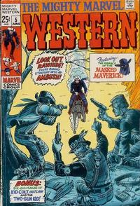 Cover Thumbnail for The Mighty Marvel Western (Marvel, 1968 series) #5