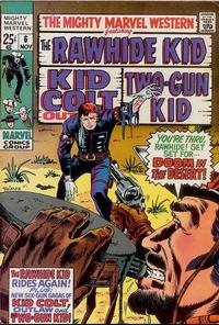 Cover Thumbnail for The Mighty Marvel Western (Marvel, 1968 series) #6