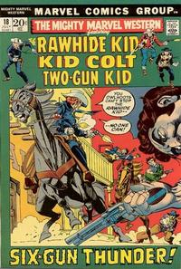 Cover Thumbnail for The Mighty Marvel Western (Marvel, 1968 series) #18