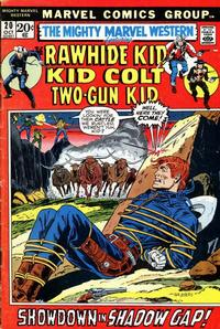 Cover Thumbnail for The Mighty Marvel Western (Marvel, 1968 series) #20