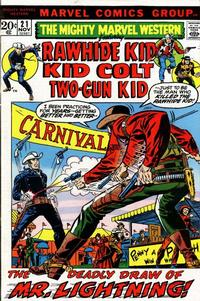 Cover Thumbnail for The Mighty Marvel Western (Marvel, 1968 series) #21