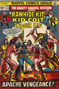 Cover Thumbnail for The Mighty Marvel Western (Marvel, 1968 series) #22