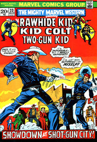 Cover Thumbnail for The Mighty Marvel Western (Marvel, 1968 series) #23