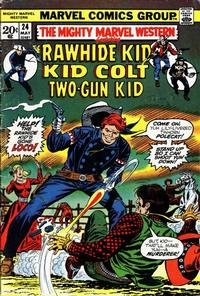 Cover Thumbnail for The Mighty Marvel Western (Marvel, 1968 series) #24