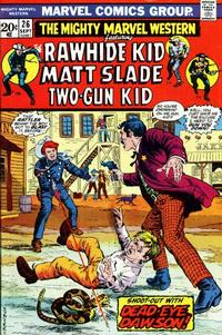 Cover Thumbnail for The Mighty Marvel Western (Marvel, 1968 series) #26
