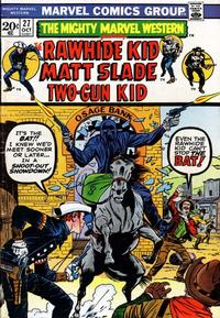 Cover Thumbnail for The Mighty Marvel Western (Marvel, 1968 series) #27