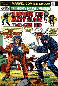 Cover Thumbnail for The Mighty Marvel Western (Marvel, 1968 series) #28