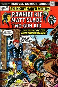 Cover Thumbnail for The Mighty Marvel Western (Marvel, 1968 series) #30