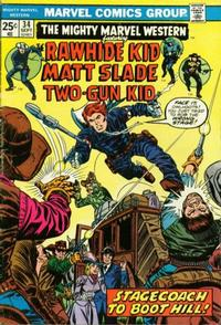 Cover Thumbnail for The Mighty Marvel Western (Marvel, 1968 series) #34