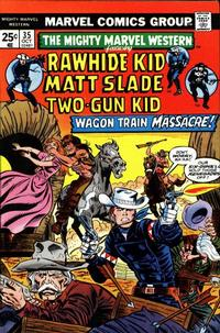 Cover Thumbnail for The Mighty Marvel Western (Marvel, 1968 series) #35