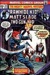 Cover Thumbnail for The Mighty Marvel Western (Marvel, 1968 series) #36